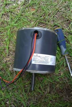 Condeser Fan Motor: 3 Wire To 4 Wire (pics Provided) Help