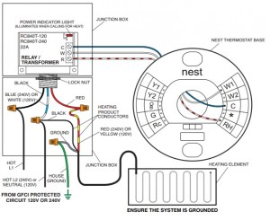 110 Volt To Nest Thermostat  HVAC  DIY Chatroom Home