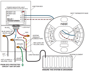Wiring Low Voltage Thermostat On Profusion Electric Heater  HVAC  DIY Chatroom Home