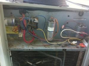 Trane XE1000 Outdoor Fan Connection  HVAC  DIY Chatroom
