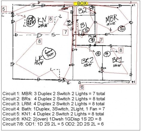 wiring a house bedroom  radio wiring diagram •