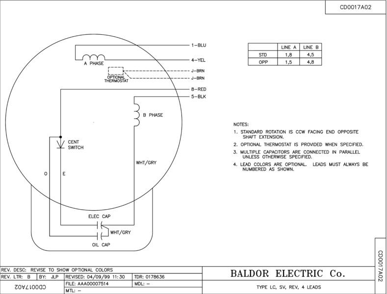 L1410t Baldor Electric Motors Wiring Diagrams L1410t Free – Electric Motor Wiring Diagrams