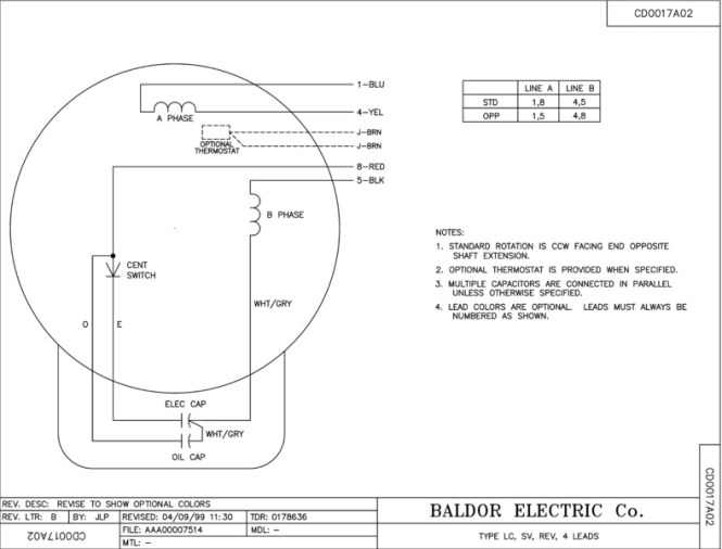 Baldor 7 5 Hp Capacitor Wiring Diagram Wiring Diagram – Baldor Motor Wiring Diagrams 3 Phase