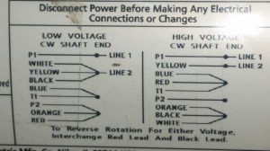 Wiring A DPDT Switch To Reverse A 110vac Motor
