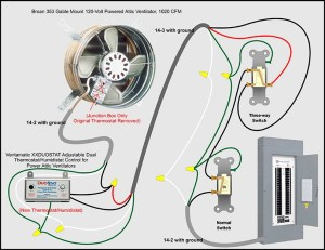 Attic Fan Bypass & Kill Switch  Electrical  DIY Chatroom