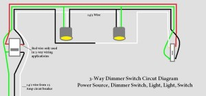 Need Help 3 Way Light Circut With Dimmer Switch