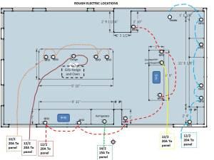 Critique My Kitchen Wiring Schematic  Electrical  DIY
