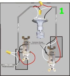 Diagram For 3 Way Ceiling Fan Light Switch  Electrical