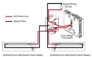 Electric Baseboard Heaters Always On  Electrical  DIY