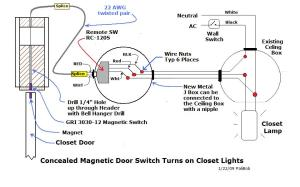 Automatic Closet Lights  Electrical  Page 3  DIY