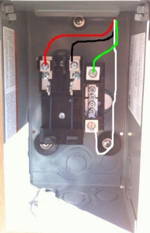 Subpanel For An Unused 50amp Circuit  Electrical  DIY