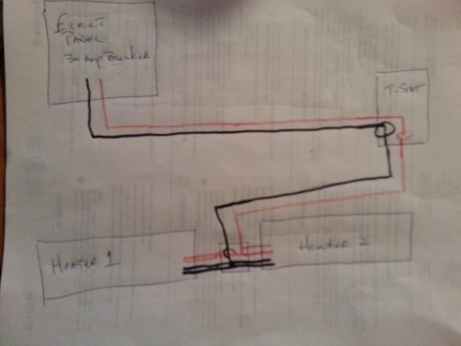 diagram marley electric baseboard hheater diagram full