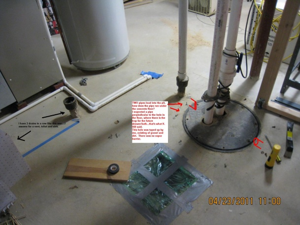 Ejector Pumproughed In Mystery Plumbing DIY Home Improvement DIYChatroom