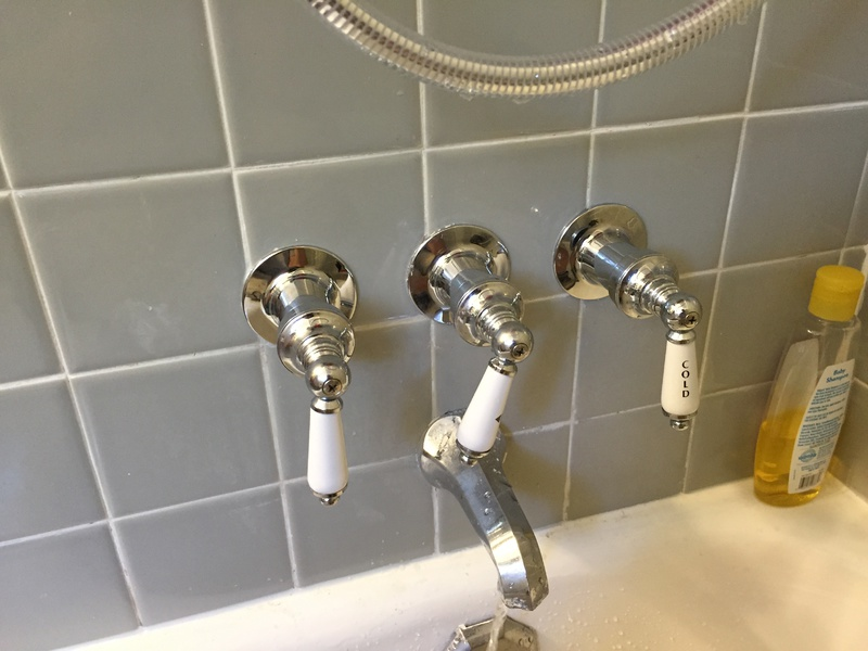 3 handle shower faucet replacement