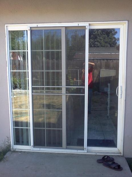 replacement sliding screen door track