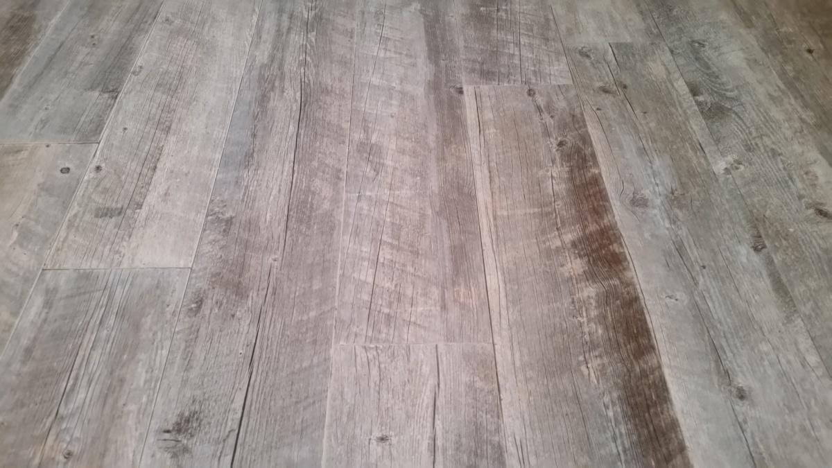 installing 6 x24 wood look tile is 1