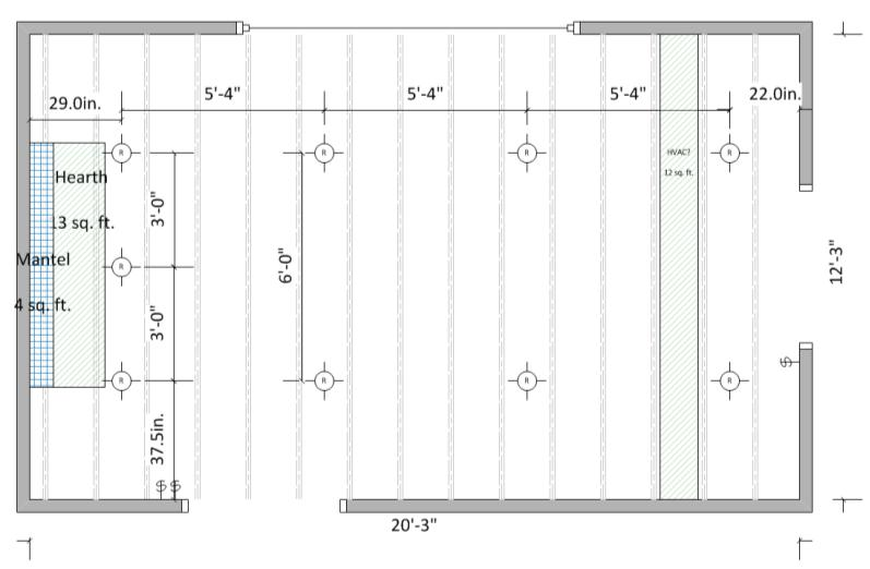 recessed lighting layout opinions