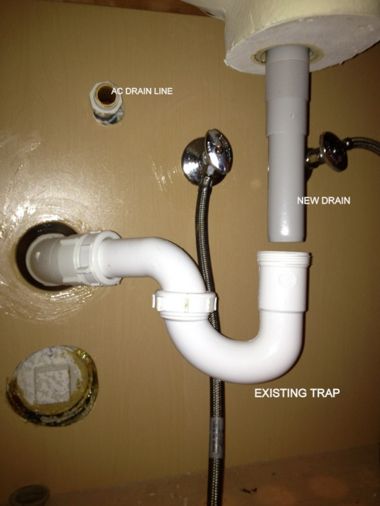 need help with sink drain and tailpiece