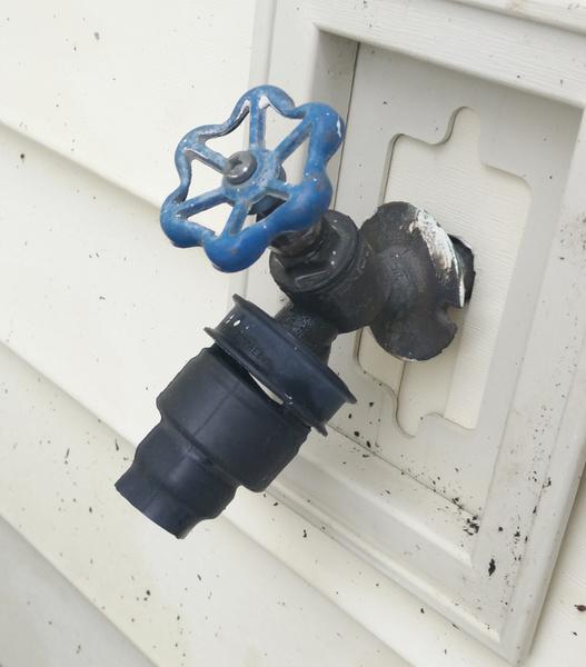 leaking outdoor faucet help