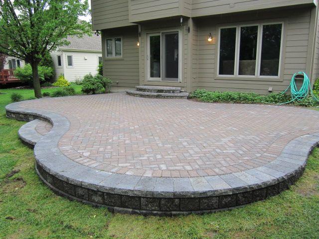 paver patio project diy home
