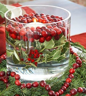 10 diy christmas centerpieces diy christmas decorations blog candle floating cranberry1 solutioingenieria Images