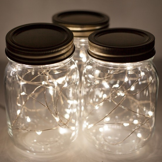 Fairy Lights and Mason Jars - Pure Whimsey