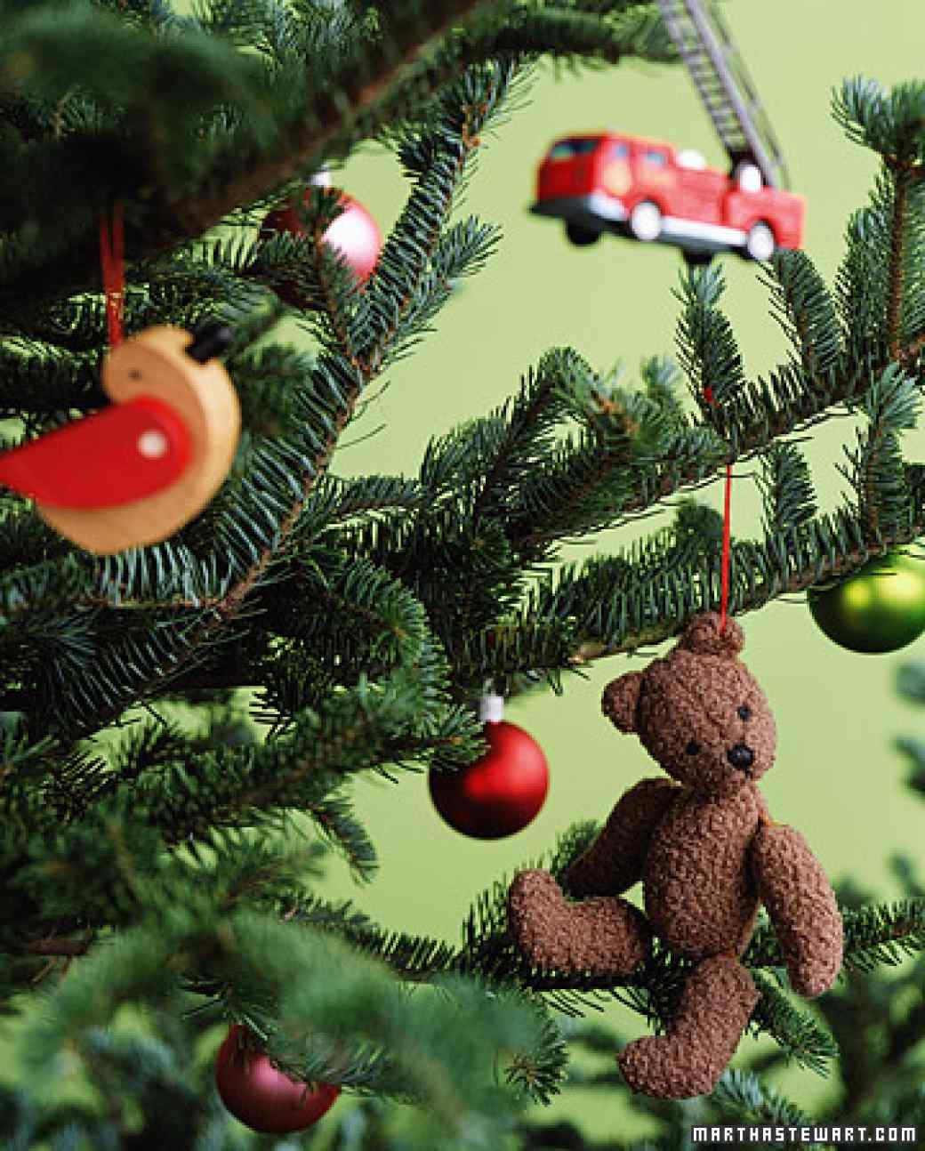 Toys At Christmas : Rustic christmas tree ornaments you can make yourself