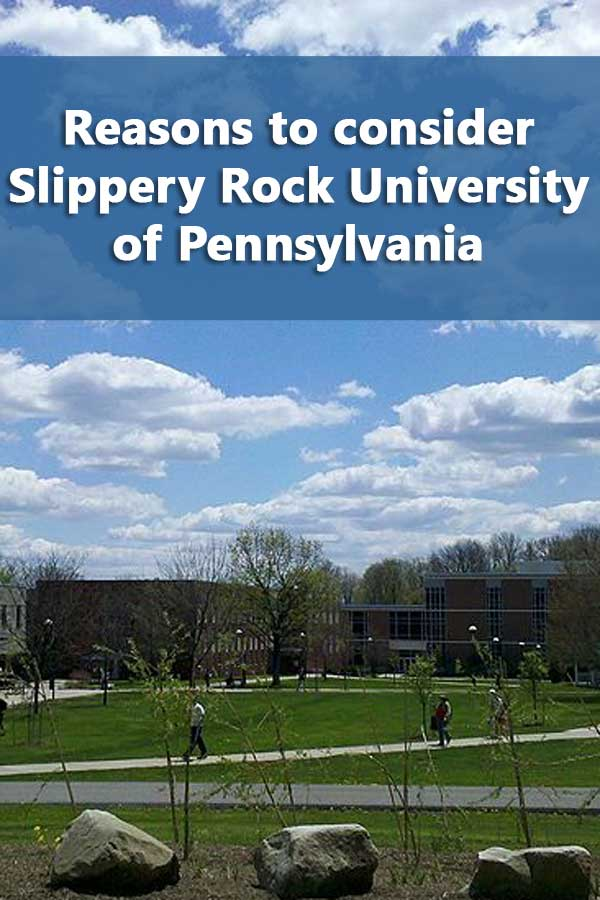 50-50 Profile: Slippery Rock University of Pennsylvania