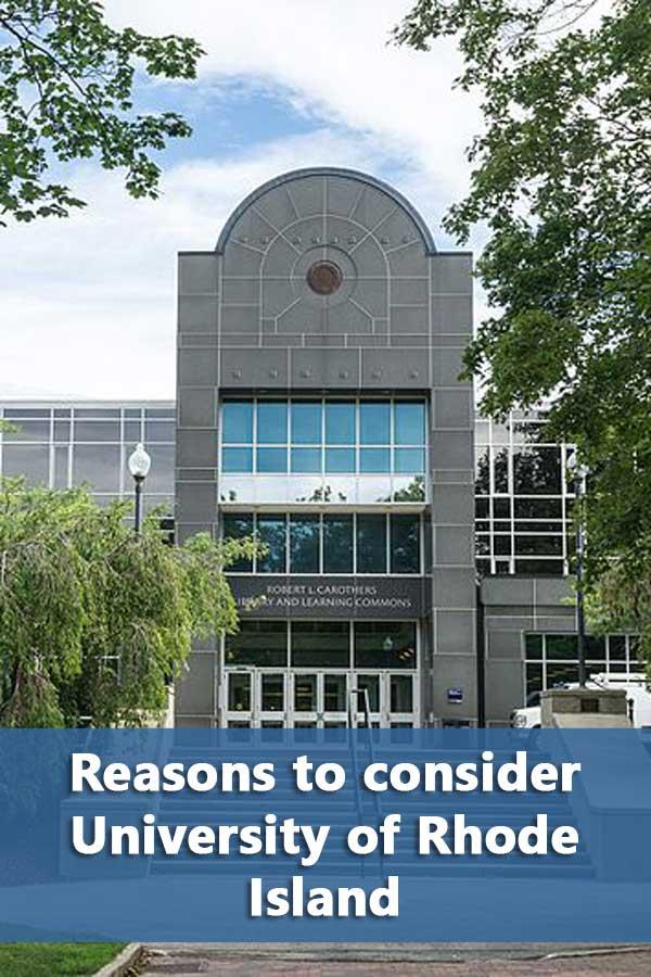 50-50 Profile: University of Rhode Island