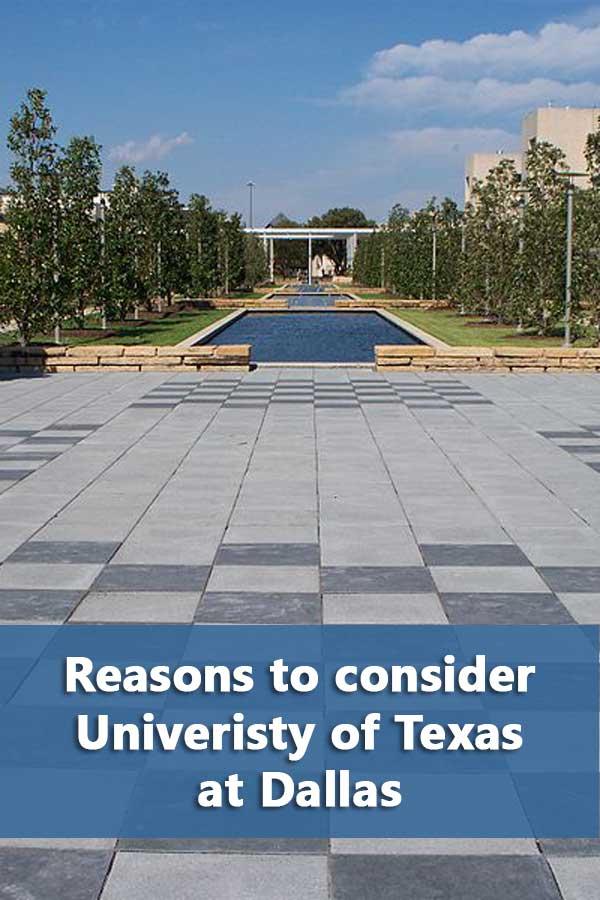 50-50 Profile: University of Texas at Dallas