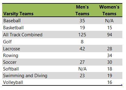 Manhattan College athletic team listing