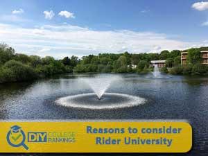 Rider University campus