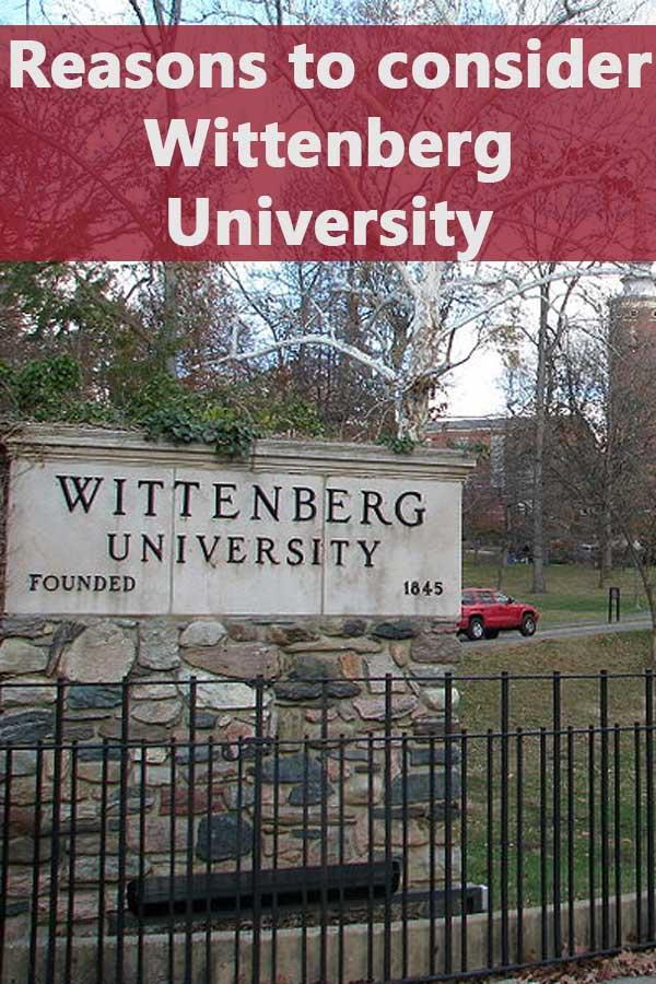 50-50 Profile: Wittenberg University