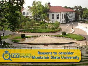 Montclair State University campus