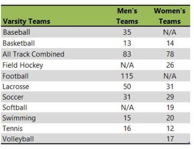 Salisbury University athletic teams