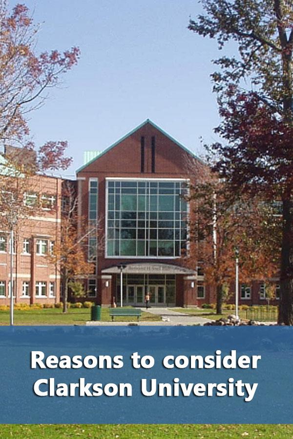 50-50 Profile: Clarkson University