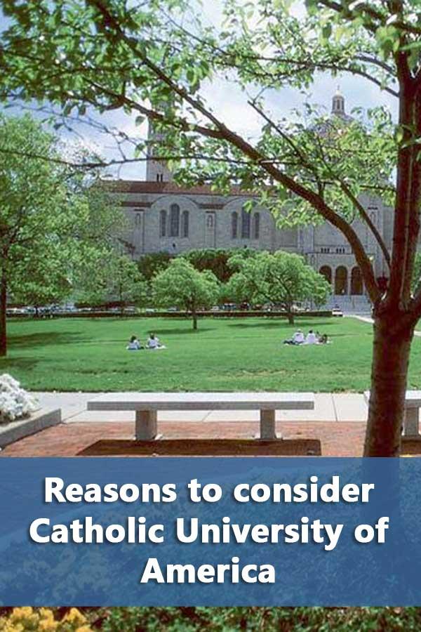 50-50 Profile: Catholic University of America