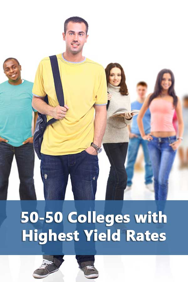 50-50 Highlights: Colleges Students Really Want to Go To