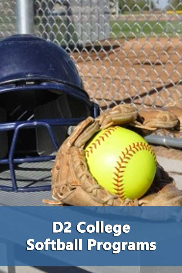 D2 is the smallest NCAA division in softball with 289 programs. However, in 19 states there are more D2 programs than D1 and D2 programs outnumber D3 programs in 22 states.