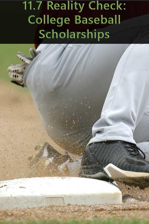 11.7 Reality Check: College Baseball Scholarships