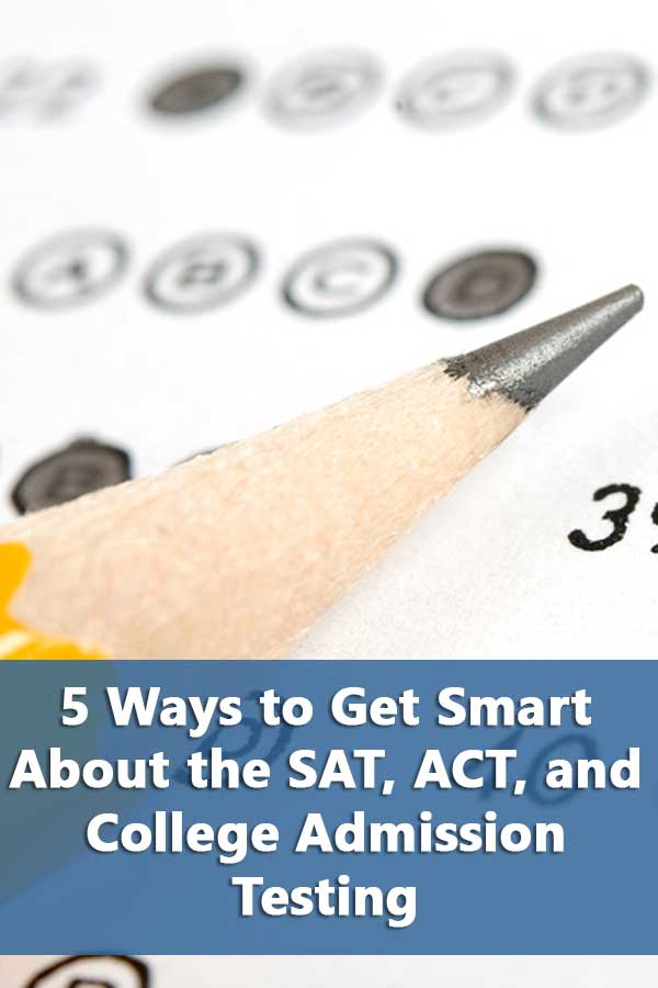 Information on college admission testing including resources on how to prepare for the exams and which exam to take.