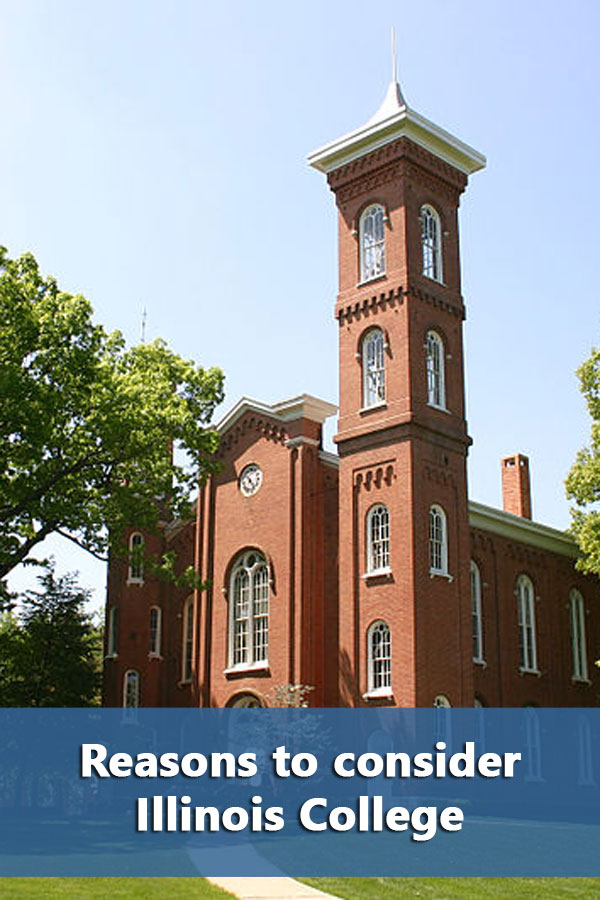 50-50 College profile for Illinois College including graduation rates and financial aid information.
