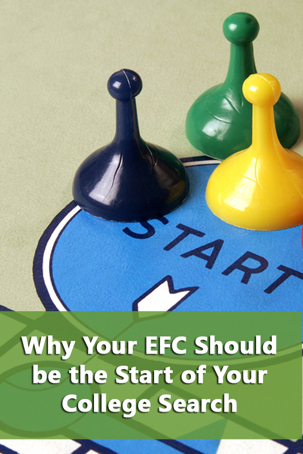 Why Your EFC Should be how you Start Your College Search