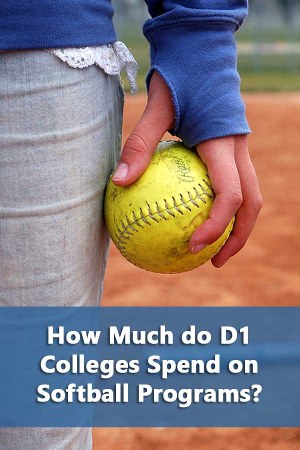 How Much do D1 Colleges Spend on Softball Programs?