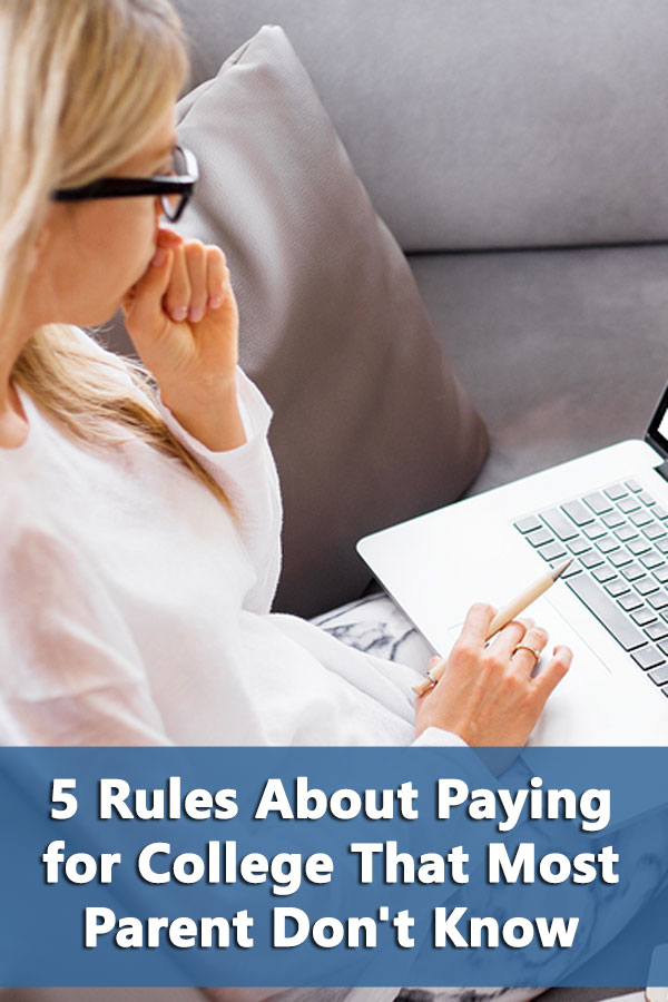 5 Rules About Paying for College That Most Parents Don\'t Know