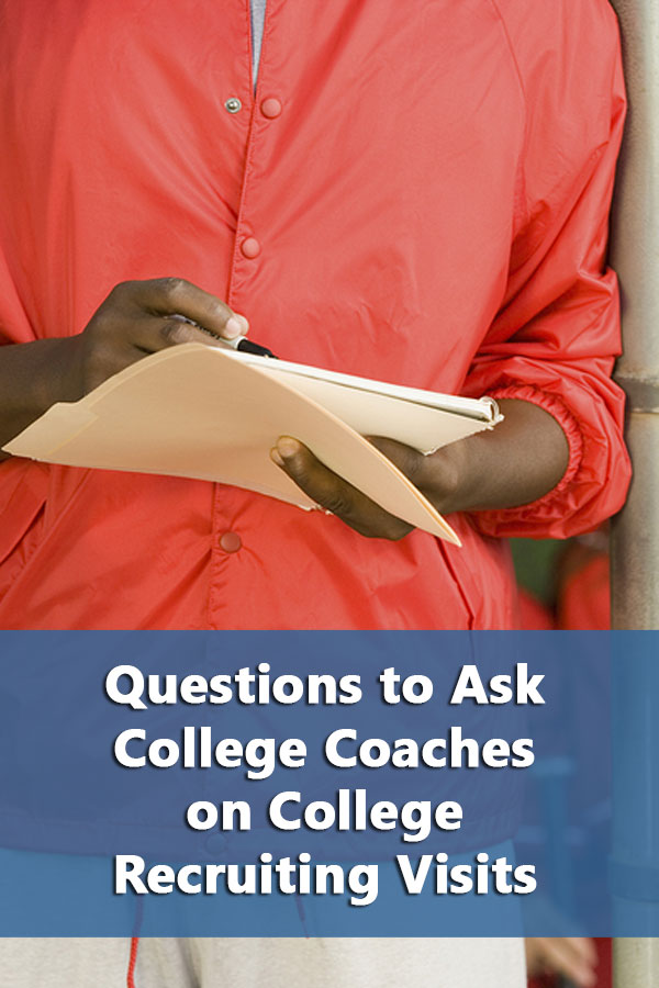 Why waste your time (and the coaches) asking questions that can be answered in five minutes on the internet?