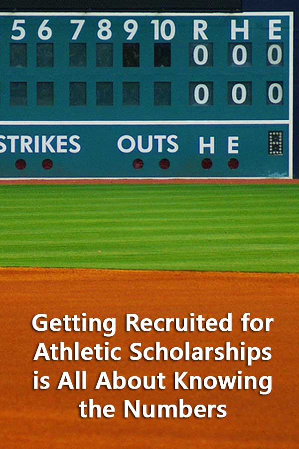 Getting Recruited for Athletic Scholarships is All About Knowing the Numbers