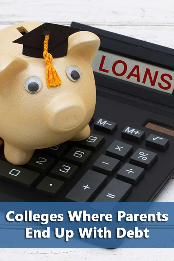 50-50 Highlights: Colleges Where Parents End Up With Debt