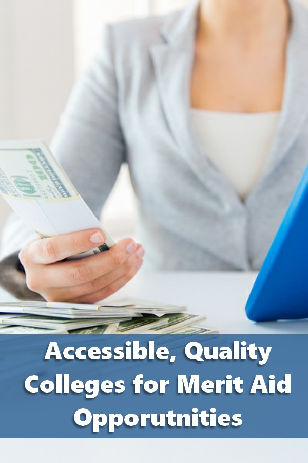 50-50 Highlights: Accessible, Quality Colleges for Merit Aid Opportunities