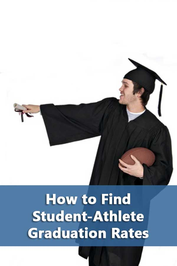 I think that once people look up the athlete graduation rates, they'll be surprised at how well most athletes do compared to the regular student body.